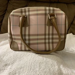 Authentic Burberry Satchel